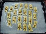 小熊杏仁饼干的做法图解11