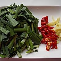 韭菜炒河蝦的做法圖解2