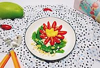 #春季食材大比拼#果蔬沙拉的做法