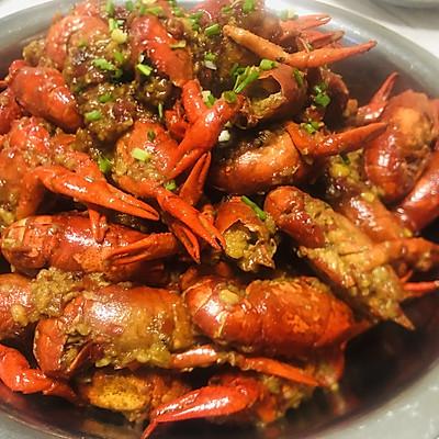 蒜蓉小龙虾(厨师真传)