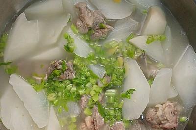 清润排骨萝卜汤
