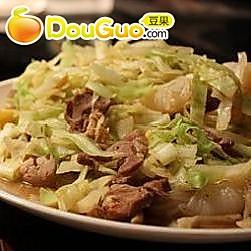 味噌椰菜炒肉丝的做法
