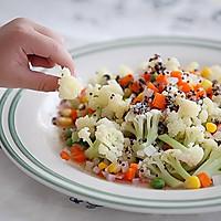 西式沙拉--三色黎麦花菜沙拉#宜家让家更有味#的做法图解20