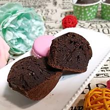 巧克力酱玛芬蛋糕