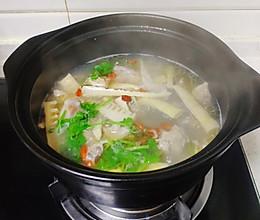春笋炖鸭汤的做法