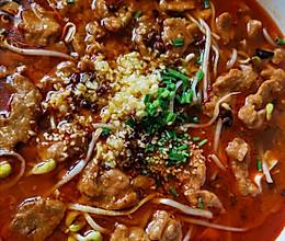番茄水煮肉片的做法