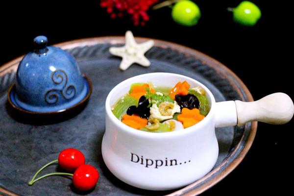丝瓜海米鸡蛋羹#厨此之外,锦享美味#的做法