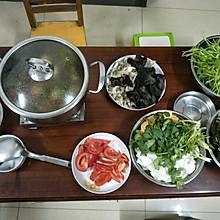 番茄牛肉火锅