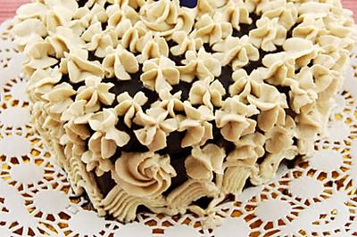 心花怒放巧克力慕斯蛋糕