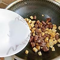 #花10分钟,做一道菜!#茭白牛排粒的做法图解7