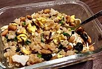 纳豆紫菜煎蛋小葱拌饭的做法