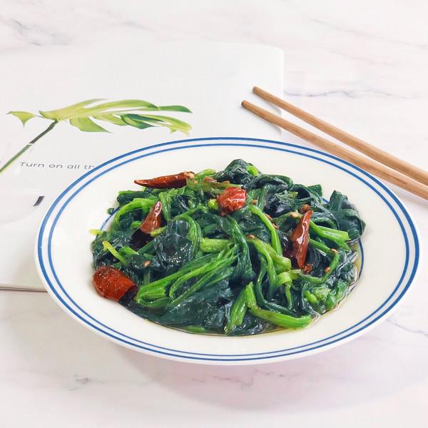 #春季减肥,边吃边瘦#凉拌菠菜