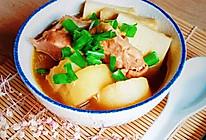 #宅家厨艺 全面来电#猪软骨焖白萝卜的做法