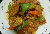 豆腐烧莲藕的做法