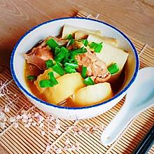 #宅家厨艺 全面来电#猪软骨焖白萝卜