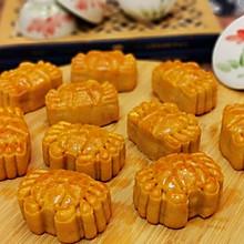 网红螃蟹月饼—广式奶黄馅