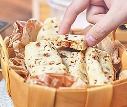 (糯米粉版)蔓越莓手指麻薯,香酥软糯年货茶点!的做法