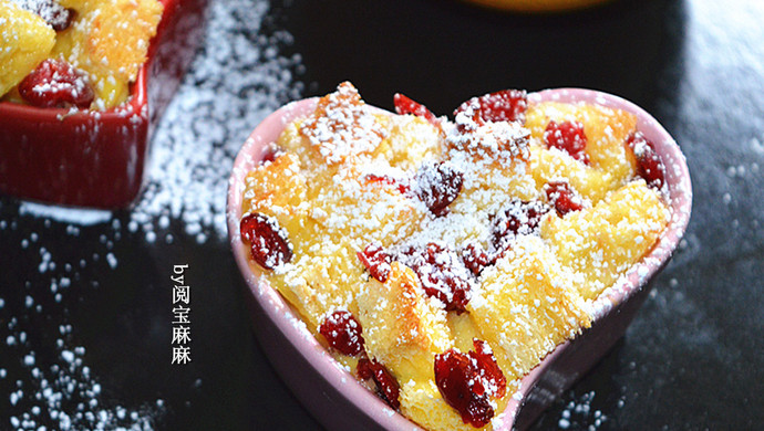 蔓越莓吐司布丁
