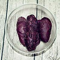 紫薯芝麻小饼 | 软糯清甜,无论大人还是孩子都适合!的做法图解3