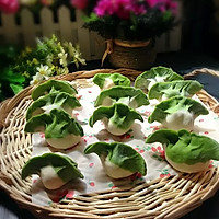 翡翠白菜水饺的做法图解17