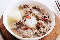 铁锅萝卜炖羊肉的做法
