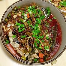 豆豉红油鱼
