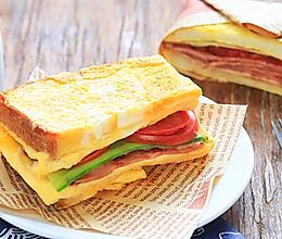 菜谱名称 厚蛋三明治的做法