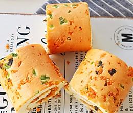 #夏日消暑,非它莫属#肉松蛋糕卷的做法