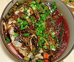 豆豉红油鱼的做法