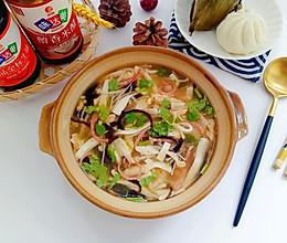 #入秋滋补正当时#金针菇豆腐汤的做法
