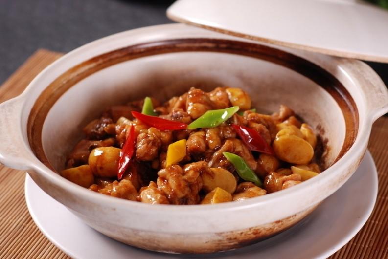 Image result for 板栗炖鸡