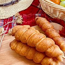 #童年不同样,美食有花样#鸡腿面包