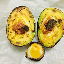 千石阿拉丁烤箱版鹌鹑蛋烤牛油果