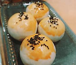 低油低糖版—酥掉渣的红豆沙馅酥皮月饼的做法