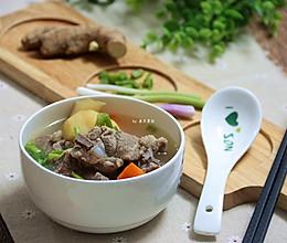 #入秋滋补正当时#清润好喝,竹蔗马蹄胡萝卜骨头汤的做法
