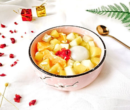 #快手又营养,我家的冬日必备菜品#醪糟果料汤圆(醉八仙)的做法