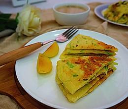 西葫芦鸡蛋饼------自制健康早餐的做法