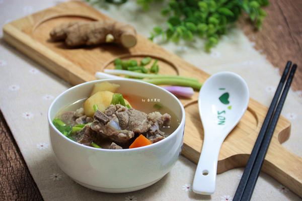 清润好喝,竹蔗马蹄胡萝卜骨头汤
