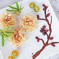 花开富贵—杏仁片土豆泥的做法图解9