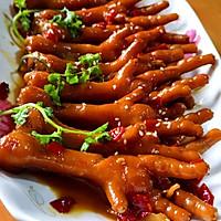五步搞定红烧鸡爪,色香味俱全,健康美味都可以当零食吃的做法图解10