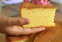 香橙戚风蛋糕#跨界烤箱 探索味来#的做法