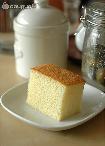 方形海绵蛋糕的做法