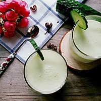 黄瓜苹果酸奶汁(喝出A4腰)的做法图解5
