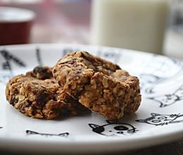 坚果燕麦曲奇饼干的做法