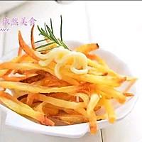 九阳空气炸锅~炸薯条