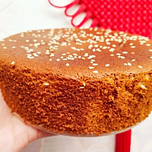 六寸戚风红枣蛋糕