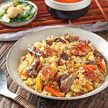 日食记 | 锅巴版羊肉抓饭
