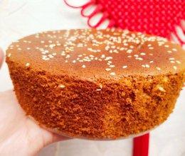六寸戚风红枣蛋糕的做法