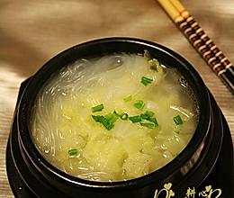 粉丝白菜汤的做法
