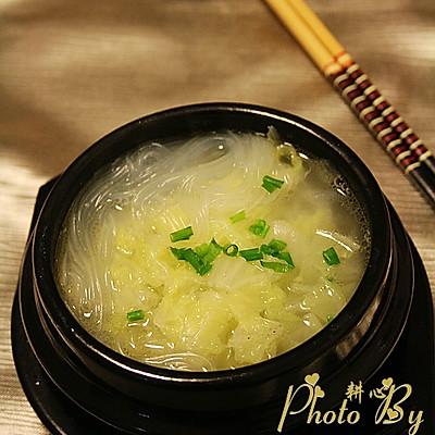粉丝白菜汤
